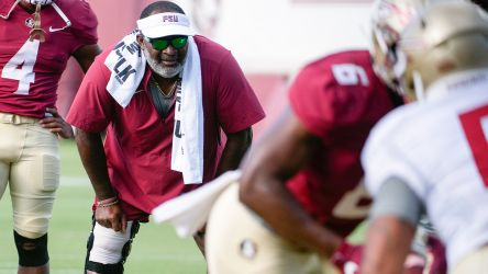 Practice Report: Haggins Instilling 'Unconquered Spirit' In Next Wave Of Noles