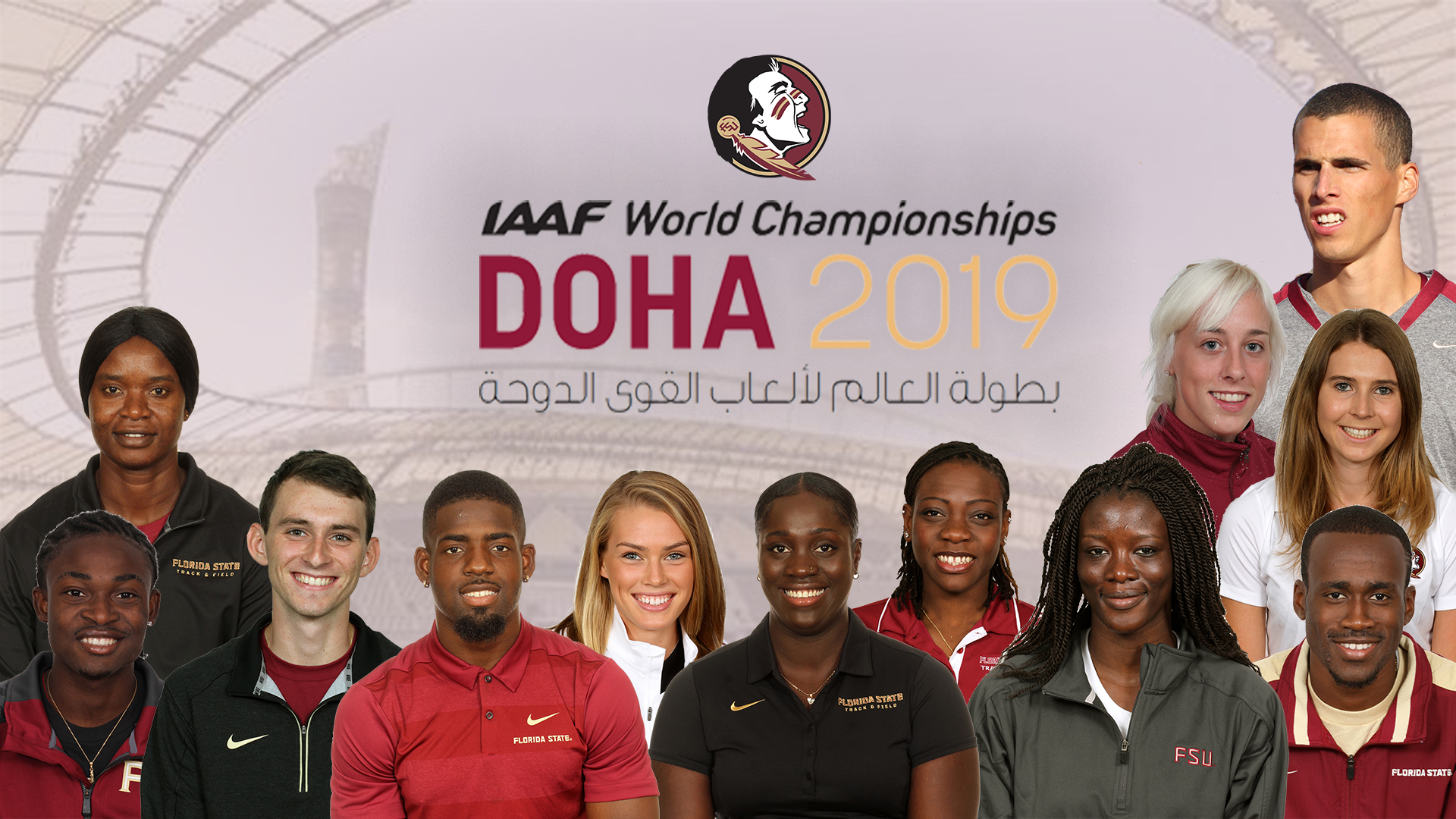 Dozen Noles Competing At World Championships in Doha