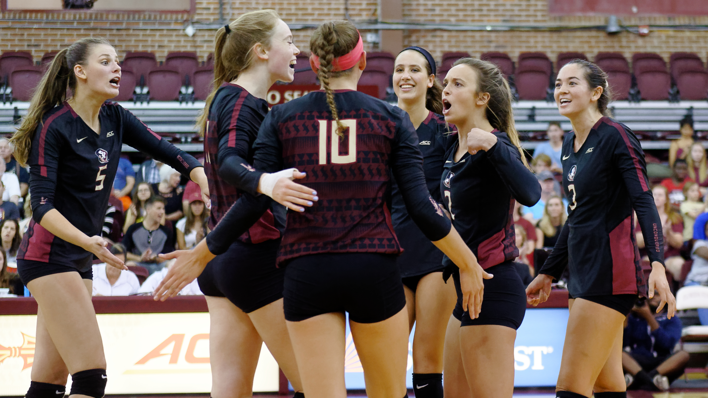 Volleyball Hits The Road To Take On Gators