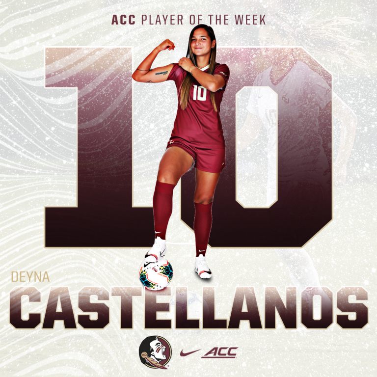 Castellanos Earns ACC Offensive Player of the Week