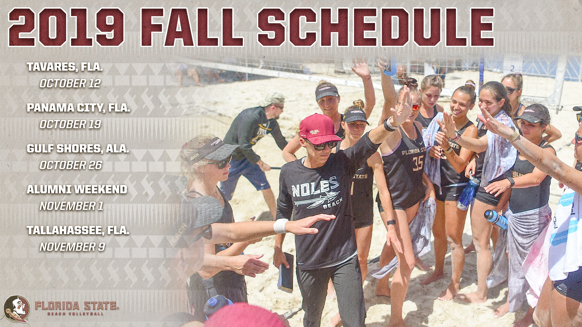 Beach Volleyball Announces Fall Schedule