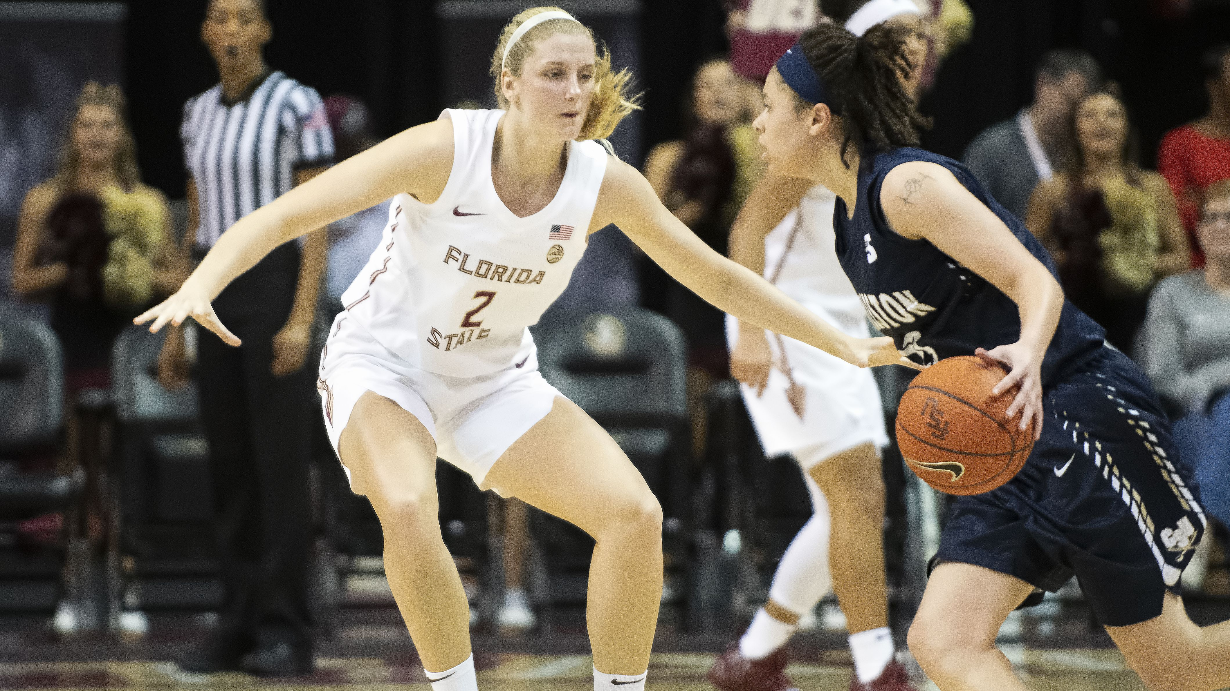 NO. 12 FLORIDA STATE HOSTS JACKSONVILLE ON 'WINSDAY'