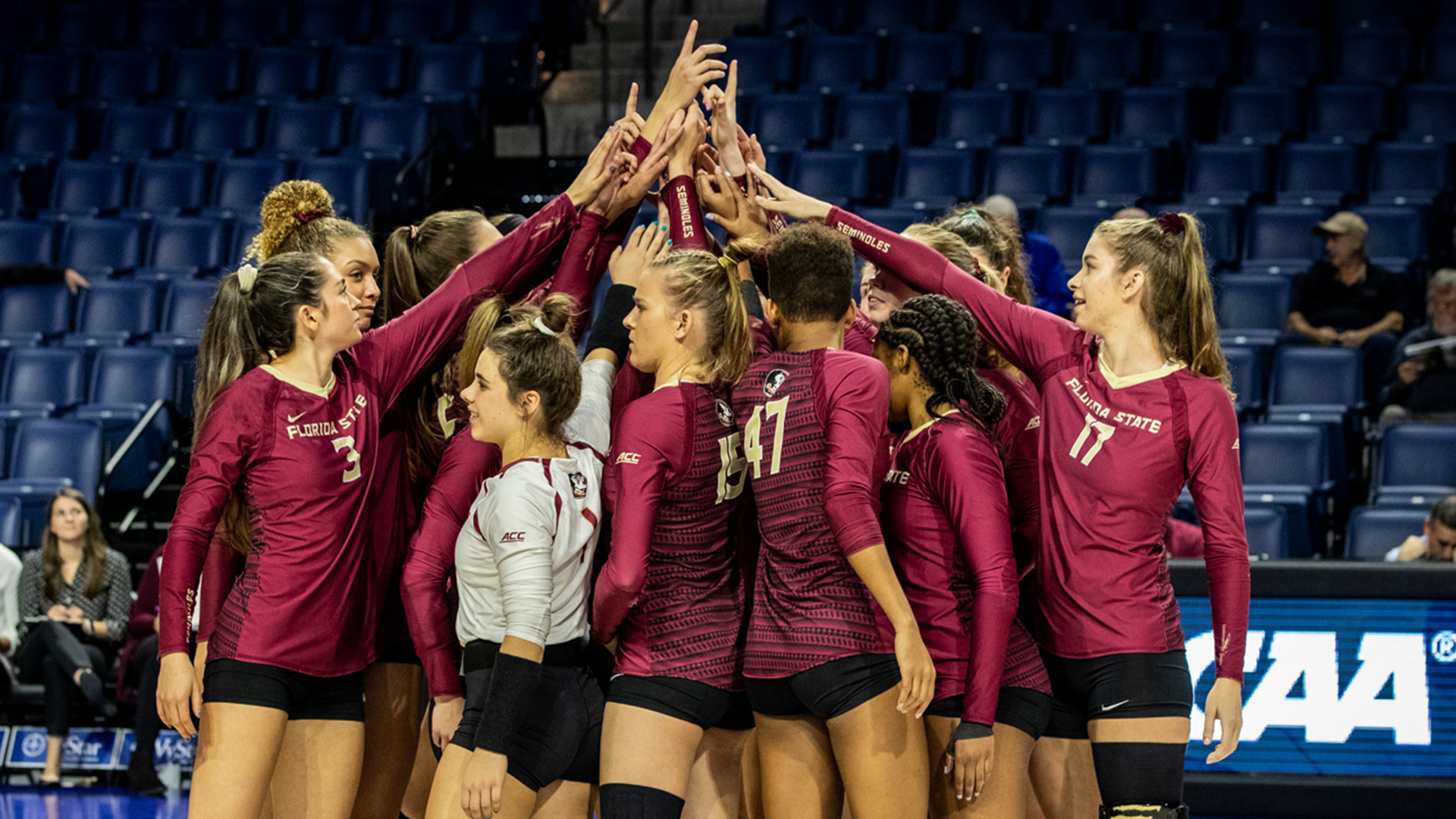 Volleyball Defeated In Five Sets By UCF In NCAA Tournament