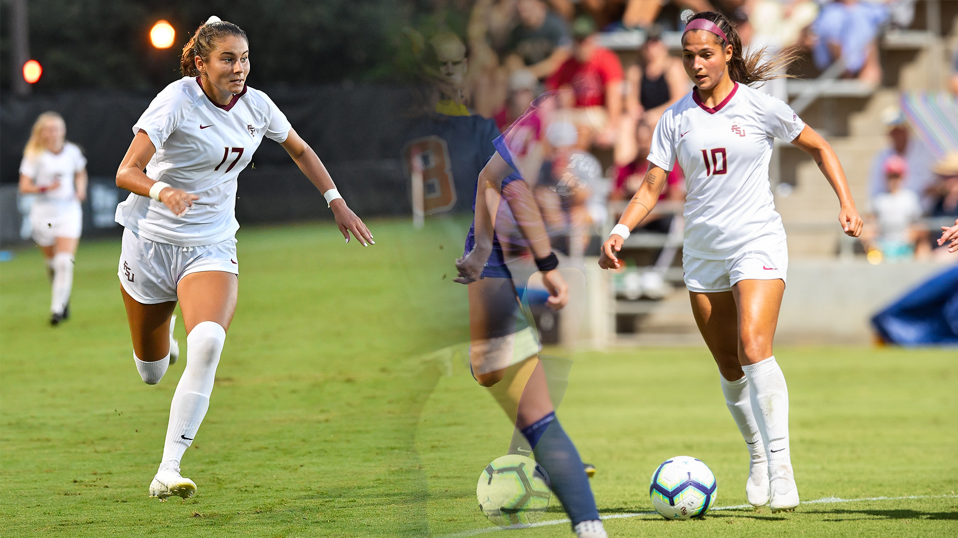 Berkely, Castellanos Named United Soccer Coaches All-Americans