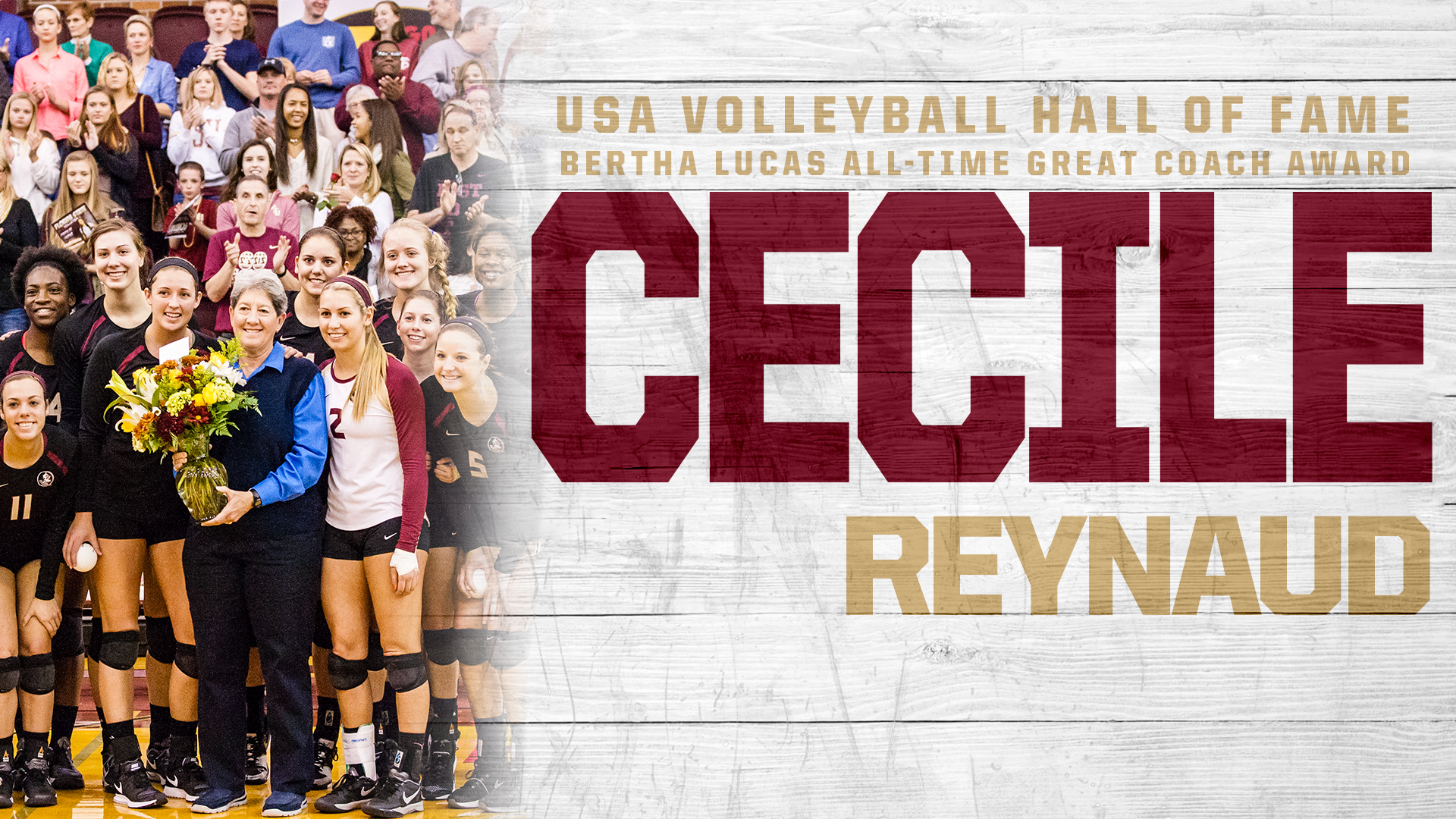 Dr. Cecile Reynaud Inducted Into USA Volleyball Hall Of Fame