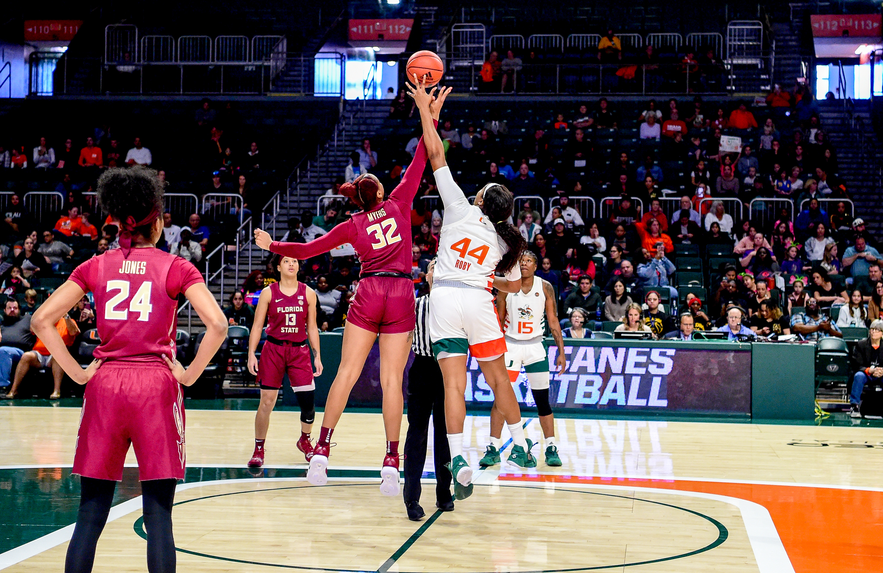Noles Battle Canes on Sunday at the Tuck