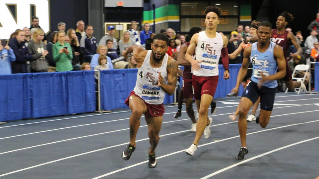 Men Roll To ACC Title; Seymour Sprints To History