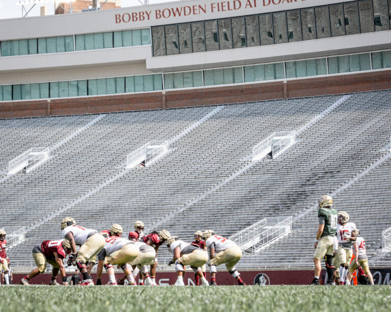 PHOTO GALLERY: Scrimmage 2