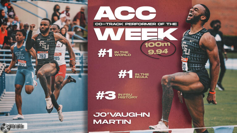 Martin, Wildschutt, Skyring, and Lasmane Earn ACC Weekly Honors