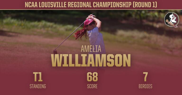 W. Golf, Williamson In First Place At Louisville Regional Championship