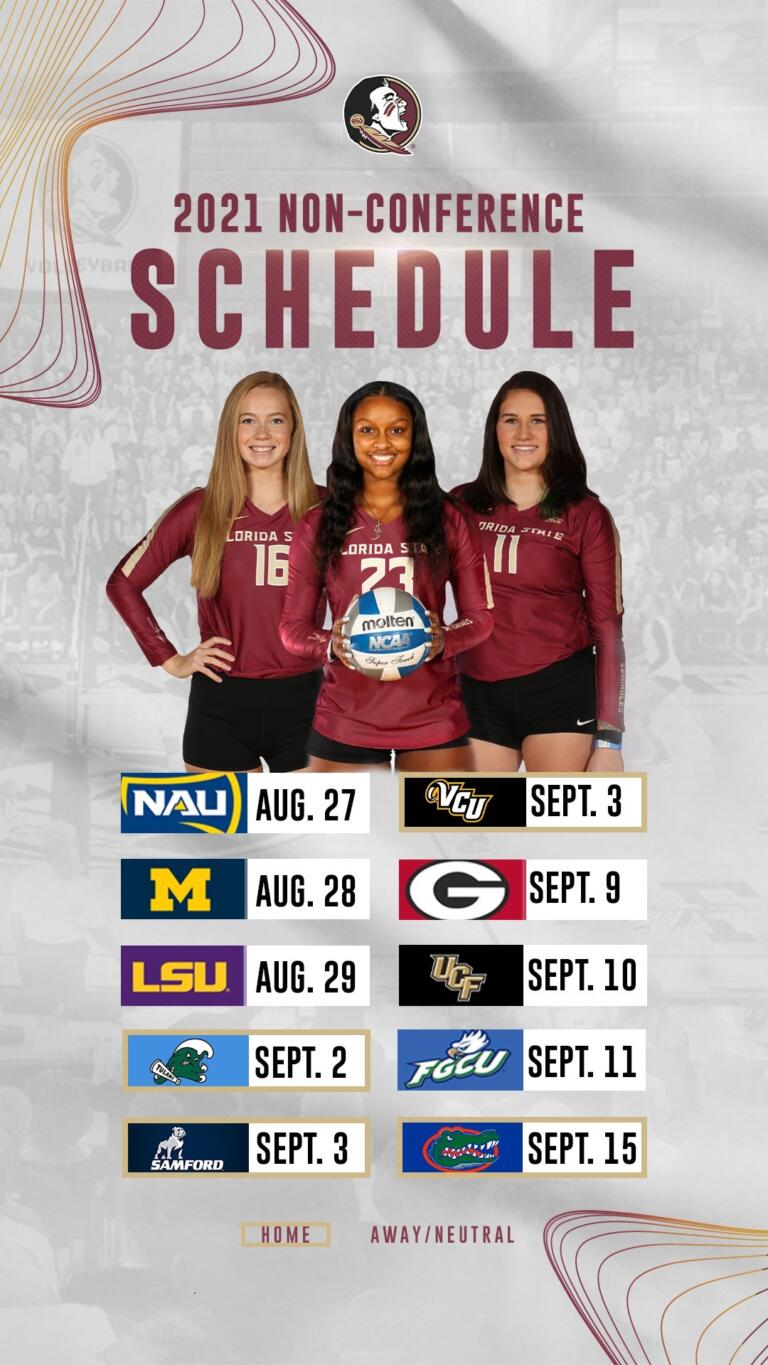 Volleyball Announces 2021 Schedule