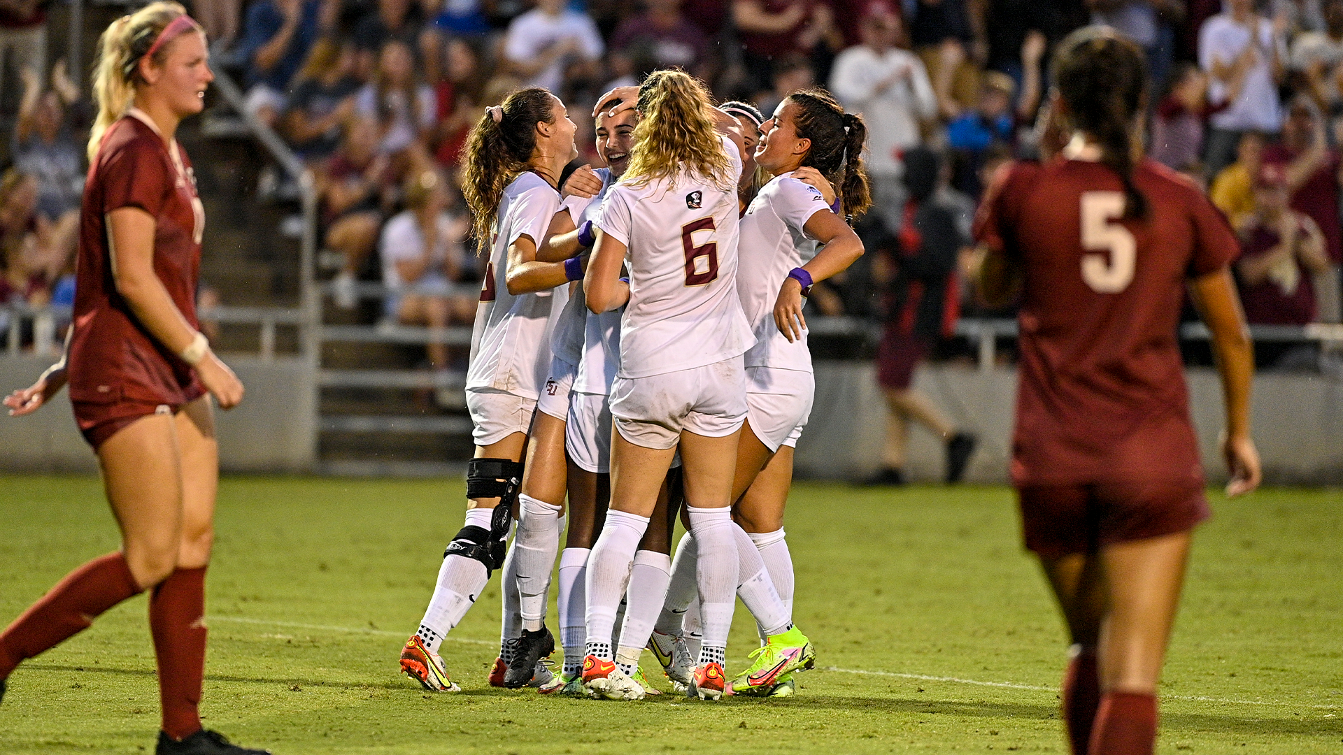 Soccer Earns First Conference Win at Home Against Boston College