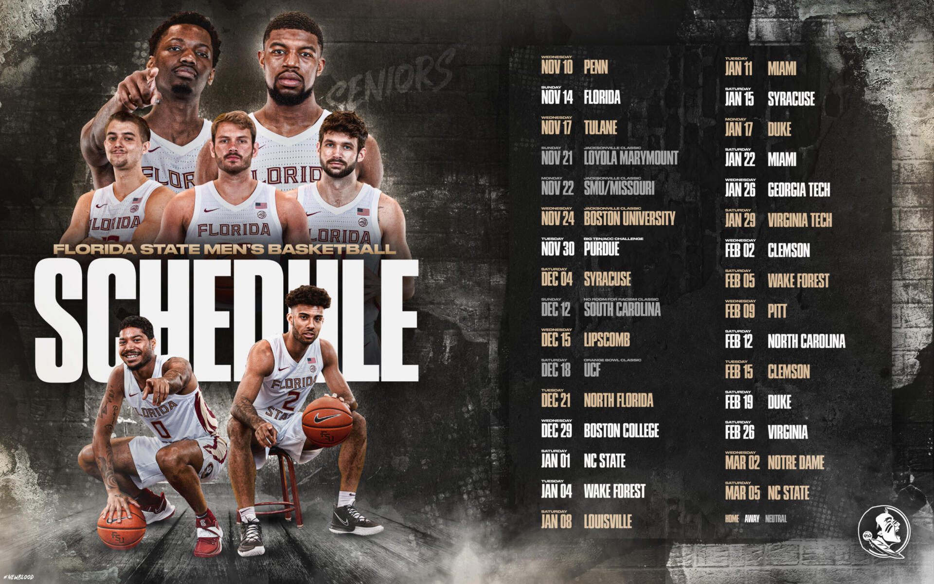 M. Basketball: Entire Schedule With ACC Games Released