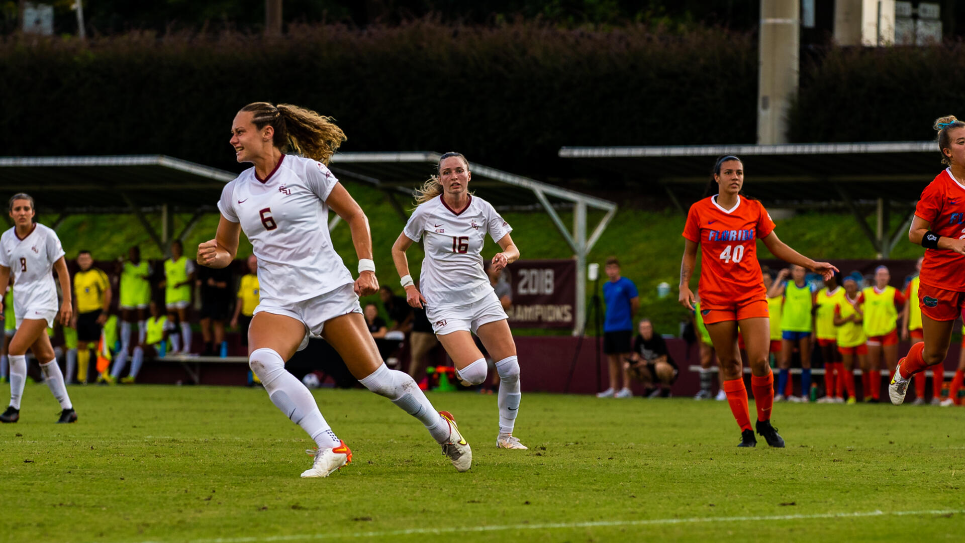 Soccer Stays Unbeaten With a 2-0 Win Over Virginia Tech